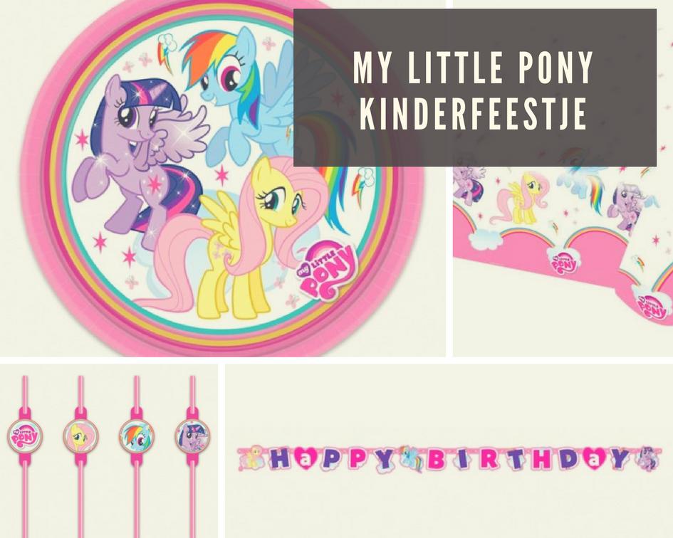 Verjaardag Kind 5 Jaar My Little Pony Kinderfeestje En